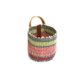 NATURAL FIBER MINI BASKET / PLANTER