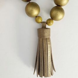MACCHIATO TASSEL NECKLACE